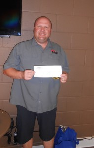 Paul Henderson, Team Center Point Fire wins Longest Drive